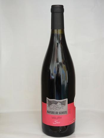 Dans votre cave à vin: AOP Maury Sec ''''Nature de Schiste''''