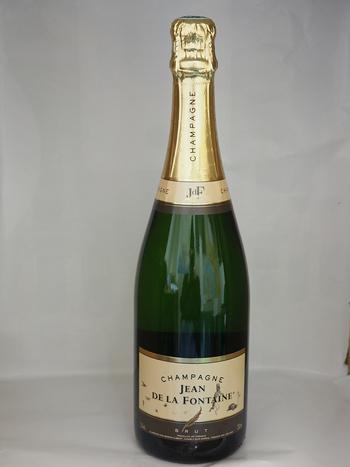 Dans votre cave à vin: Le Champagne Jean de la Fontaine