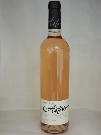 Dans votre cave à vin: Le Château d''Astros Rosé - AOP Côtes de Provence , Rosé 2015