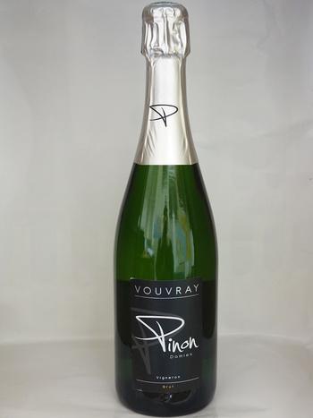 Dans votre cave à vin: AOP Vouvray Brut Domaine Pinon - 100% Chenin
