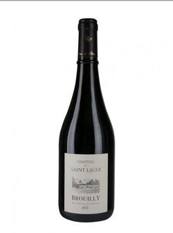 Dans votre cave à vin: Le Brouilly château saint lager