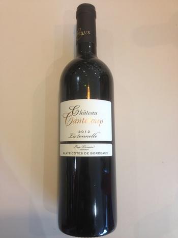 Dans votre cave à vin: Le Château Canteloup La Tonnelle 2011 - 2012
