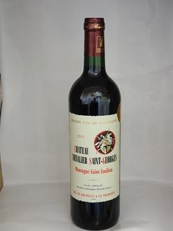 Dans votre cave à vin: Le Château Chevalier Saint-Georges