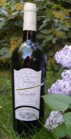Dans votre cave à vin: La Cuvée Guillaume de Jouclary
