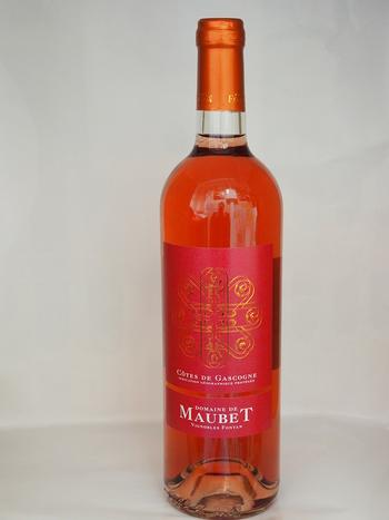 Dans votre cave à vin: Le DOMAINE DE MAUBET ROSÉ - La Gascogne