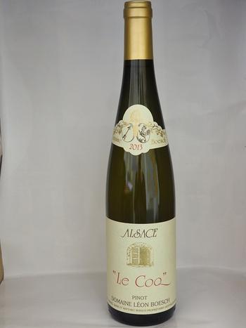 """Dans votre cave à vin: Le PINOT GRIS """"Le Coq"""" 2011 - Domaine Léon Boesch"""
