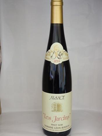 """Dans votre cave à vin: Le PINOT NOIR """"Les Jardins"""" 2011 - Domaine Léon Boesch - Alsace"""