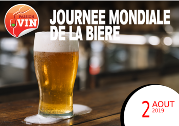Journée mondiale de la bière avec Passion Vin