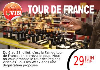 Passion Vin organise son Tour de France
