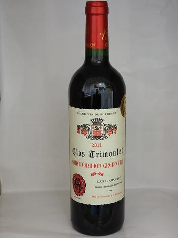 Dans votre cave à vin: Le Clos Trimoulet - Saint-Emilion Grand Cru